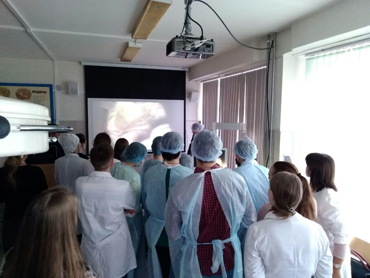 Master class for otho surgeons in Ekaterinburg